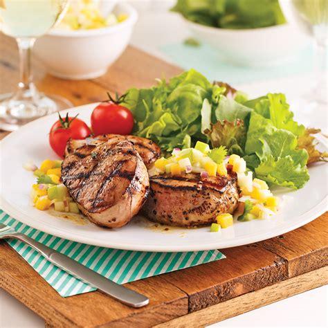 cuisine porc médaillons de porc moutarde et érable recettes cuisine