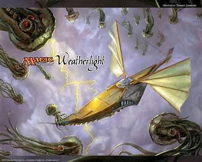 Fantasy Magic Gathering Weatherlight Cthulhu