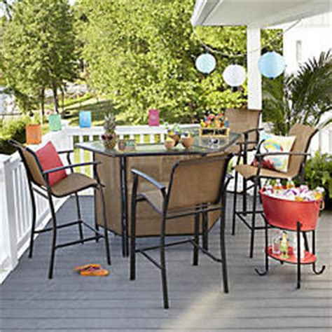 Kmart Patio Bar Sets by Outdoor Patio Furniture Patio Furniture Sets Kmart