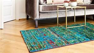 tapis turquoise ventes privees westwing With tapis salon turquoise
