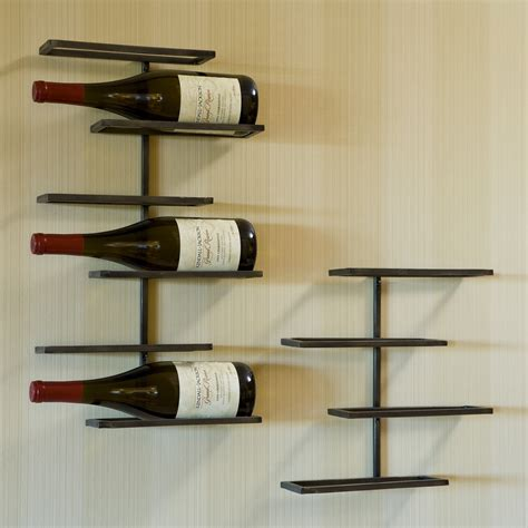 wall hanging wine rack tribeca wall mounted wine rack wine racks at hayneedle