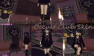 Yandere Skin Simulator Occult Club