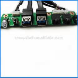 Dual Usb3 0 Led Power Switch Hd Audio I  O Cable Computer