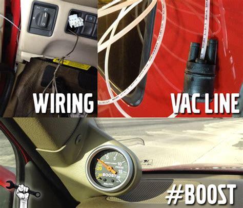 diy boost gauge install complete guide