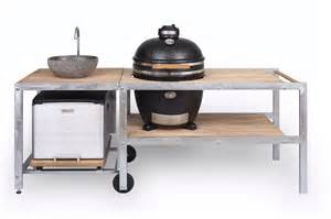 grill küche gartenküche und outdoorküche grillen im garten