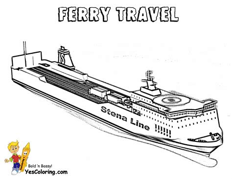 Cruise Ship Coloring Pages Fitbudhacom