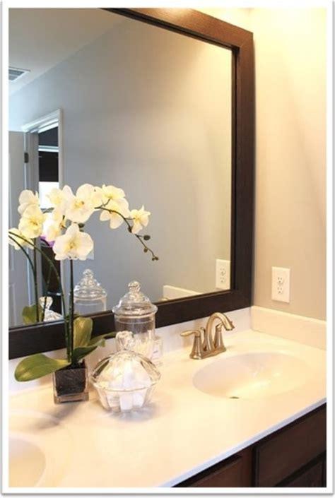 Mirror Borders Bathroom by Mirrormate Mirror Frame Kit Bathroom Mirrors