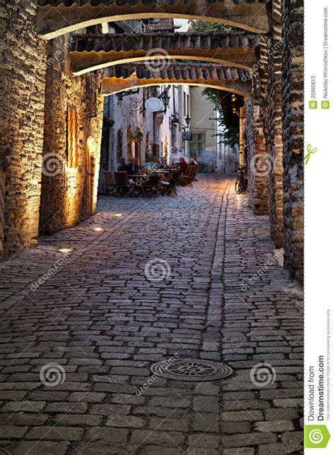 european street stock image image  destination