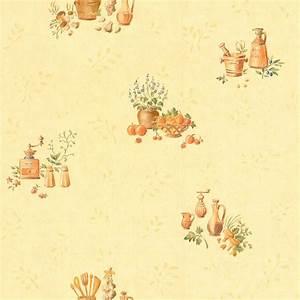Papiers Peints Cuisine : papier peint cuisine jaune intiss cuisine et bain leroy ~ Melissatoandfro.com Idées de Décoration
