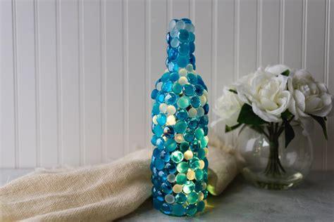 twinkling lights wine bottle craft favecraftscom