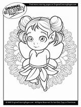 Coloring Magical Fairy Tale Fairies sketch template