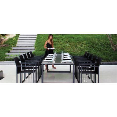 si e de table 360 table ninix 360 de royal botania verre noir