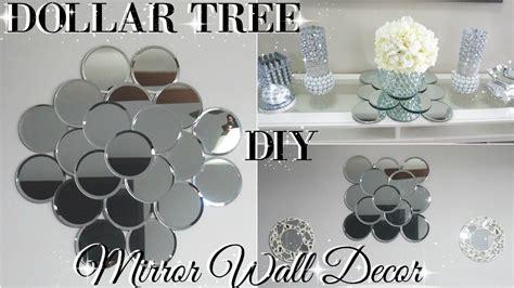 diy dollar tree mirror wall art diy dollar store glam room
