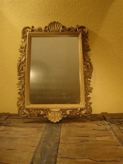 rustic home interiors lovely vintage gold framed homco mirror vintage home