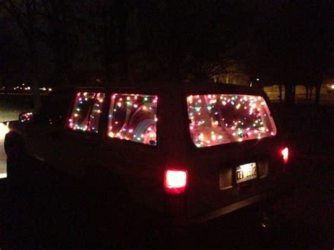 christmas lights or no christmas lights jeep cherokee forum
