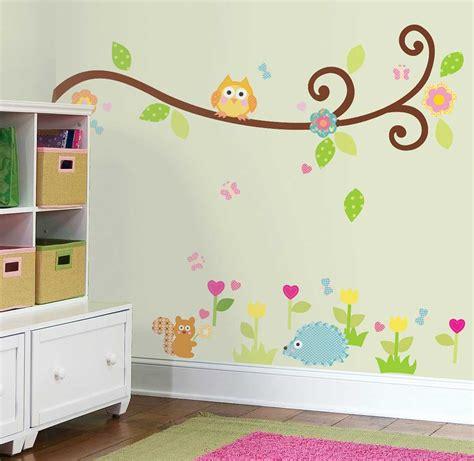 Wandtattoo Kinderzimmer Roommates by Roommates Wandsticker Scroll Tree Zweig Kinderzimmer