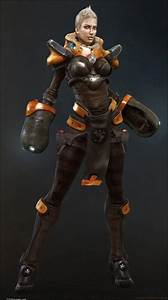 Woman in Sci-Fi Space Suit - Pics about space