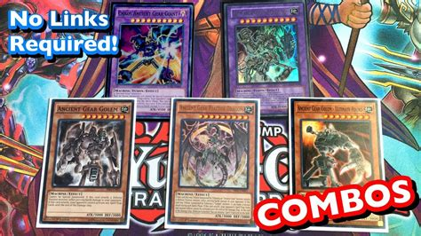 zoolock deck august 2017 ancient gear deck combos august 2017 no link monsters