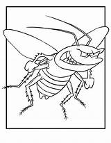 Coloring Bug Pages Bugs Insect Colouring Printable Cartoon Insects Flying Bunny Angry Cockroach Jr Animal Template Sheets Topcoloringpages Cute Lightning sketch template