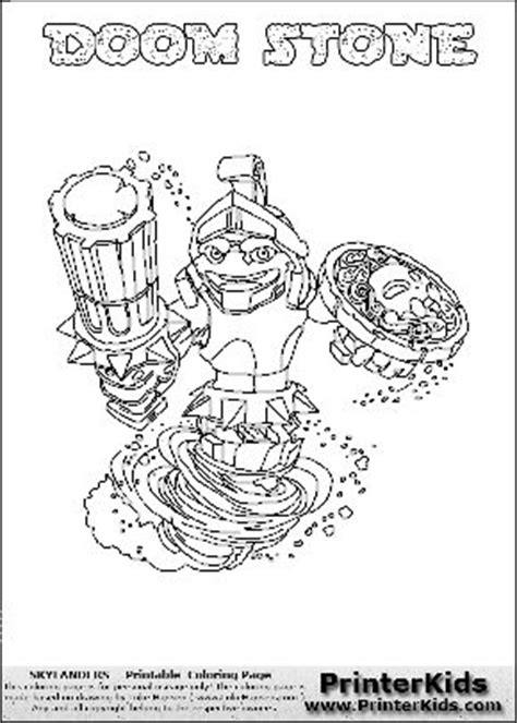 Skylanders SWAP FORCE coloring pages - 52 free online printables ... | 663x474