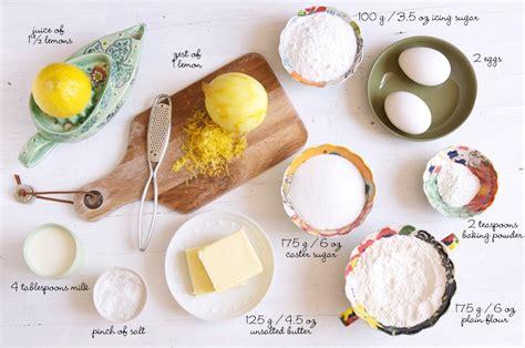 ingredients to make a cake lemon syrup loaf cake eat little bird