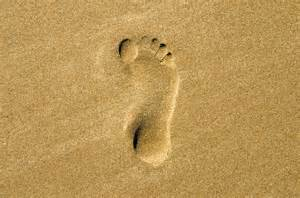 Footprints Sand Picture Free