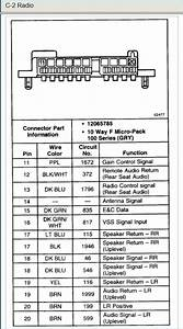 2003 Chevy S10 Radio Wiring Diagram