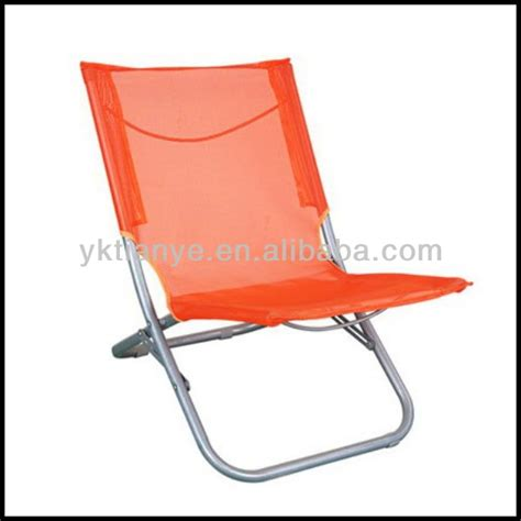 designer low price folding easy chair cloth folding chair