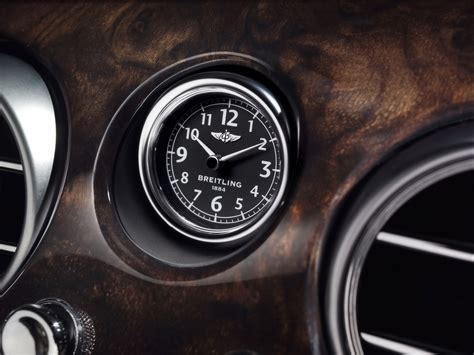 bentley breitling clock 2009 bentley continental flying spur speed breitling