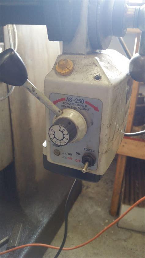 bridgeport vertical knee mill central oregon sold