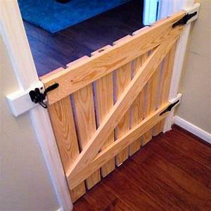 25 best ideas about dog gates on pinterest dog gate With build your own dog door