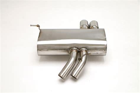 Bmw Z4 Cat Back Exhaust System 3.0l (round Tips) #fbmw