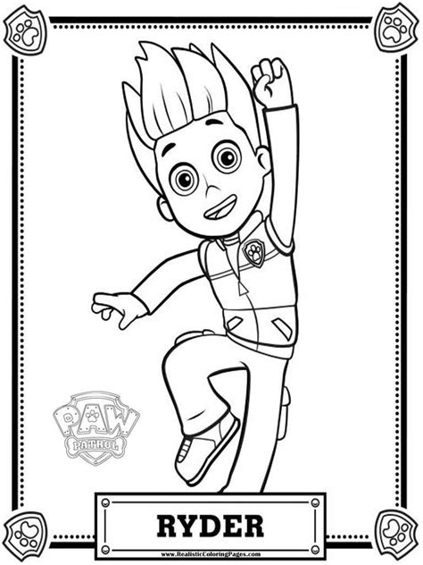 Kleurplaat Pawpatrol by Paw Patrol Coloring Pages Realistic Coloring Pages