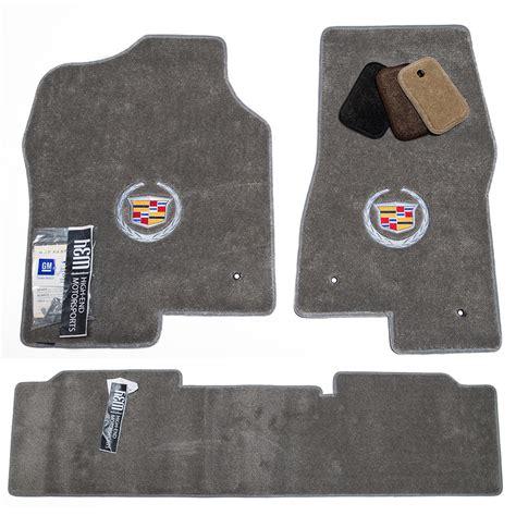 escalade floor mats cadillac escalade ext pewter grey floor mats set 2002 2006