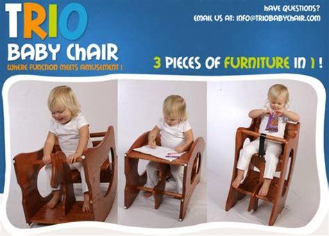 trio chair high chair rocking horse child desk