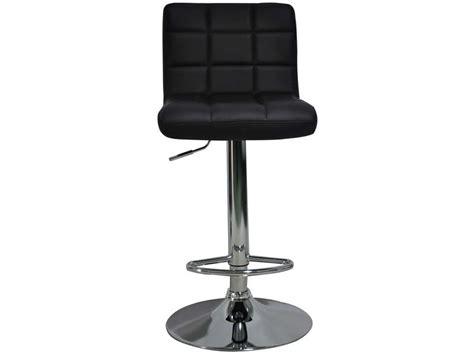 tabourets de bar florence coloris noir vente de chaise de cuisine conforama