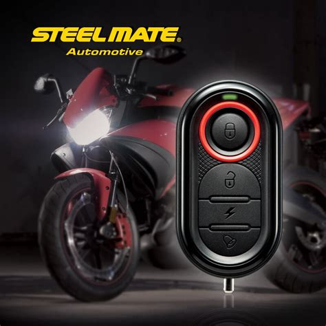 aliexpress buy steelmate 986e 1 way motorcycle alarm system remote engine start motorcycle