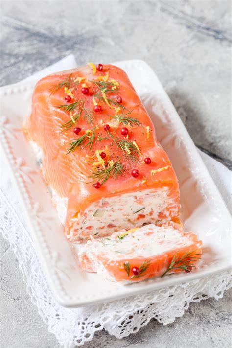 cuisine et fetes terrine au saumon et crevettes une entrée de fêtes
