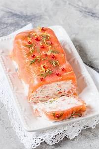 Repas De Noel Poisson : terrine au saumon et crevettes recette entree de fete ~ Melissatoandfro.com Idées de Décoration