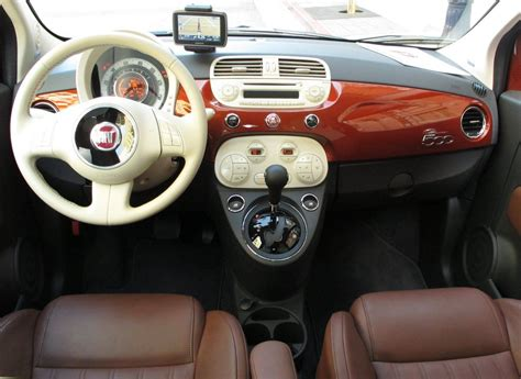 Fiat Interior Photos by Fiat 500 Interior Automatic Wallpaper Free Http