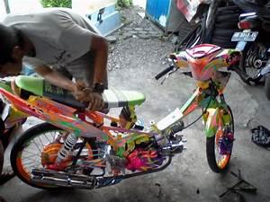Boy Moga  Anak Motor Mega Pro   Garap Motor Dengan Bajet