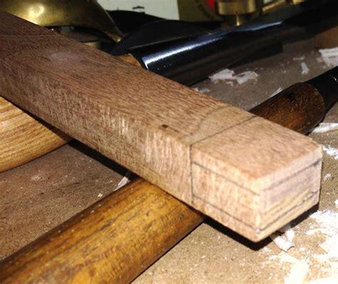 creating  curly maple handle   custom japanese hammer