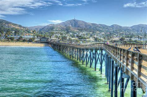 ventura ca wooden pier scenic view beautiful panorama photograph by david zanzinger