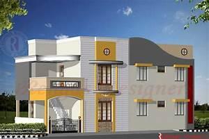 Home Design: Indian House Design Double Floor House