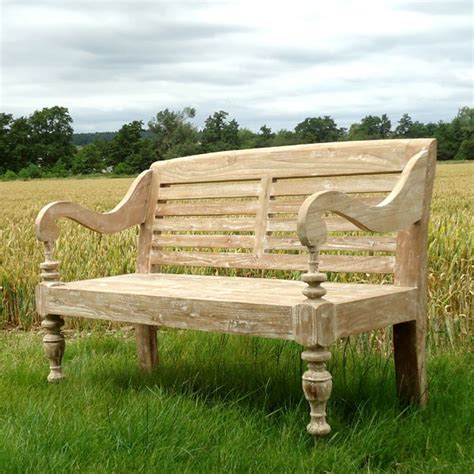 Antique Teak Bench - bali antique bench 1 2m reclaimed teak