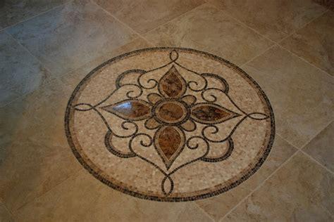 floor tile medallions tile floor medallion mediterranean cleveland by architectural justice