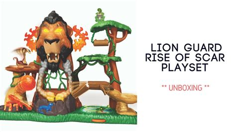 The Children Unbox The New Lion Guard The Rise Of Scar