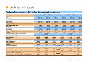 Deckungsbeitrag Berechnen Excel : mehrstufige deckungsbeitragsrechnung f r produktvarianten und ihr anteil am produkterfolg ~ Themetempest.com Abrechnung