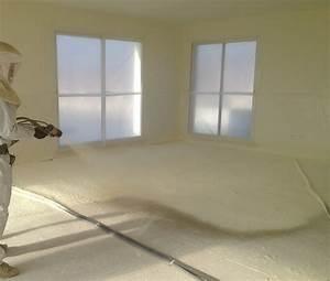 Isolation Des Sols : isolation sol mousse polyur thane projet e ~ Melissatoandfro.com Idées de Décoration