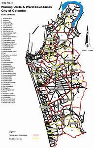 Map Planing Units & Ward Boundaries City of Colombo